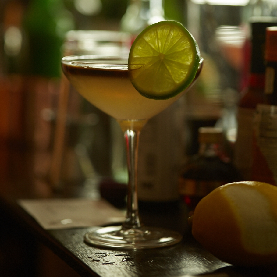 Last Call Daiquiri - Sometimes you just need to kick back and enjoy the simpler things in life. The Last Call Daiquiri only has three ingredients. Lime, simple syrup, rum, and rum...well that's more then three but after one of these who would want to count?