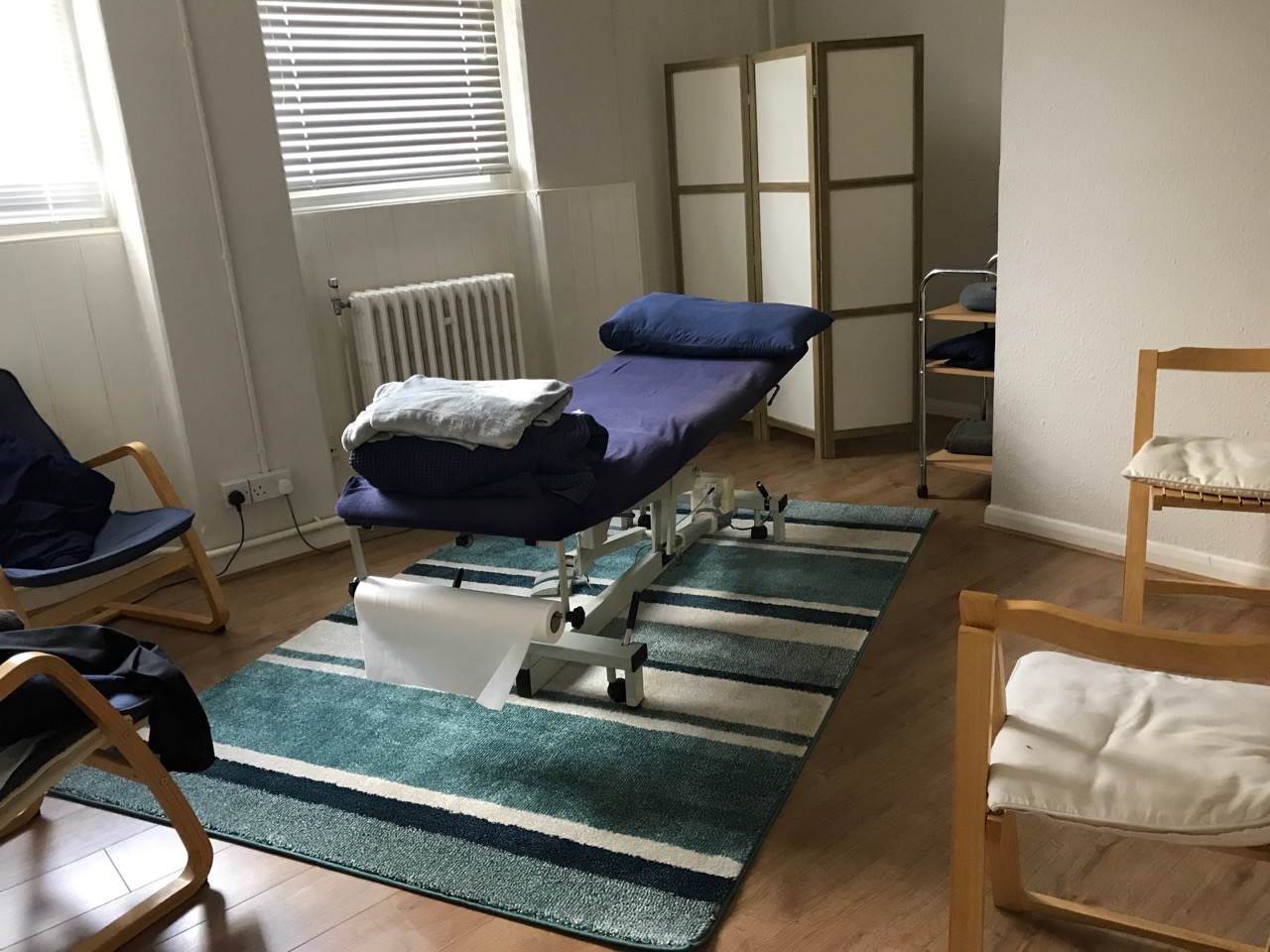 Treatment room at The Open Door