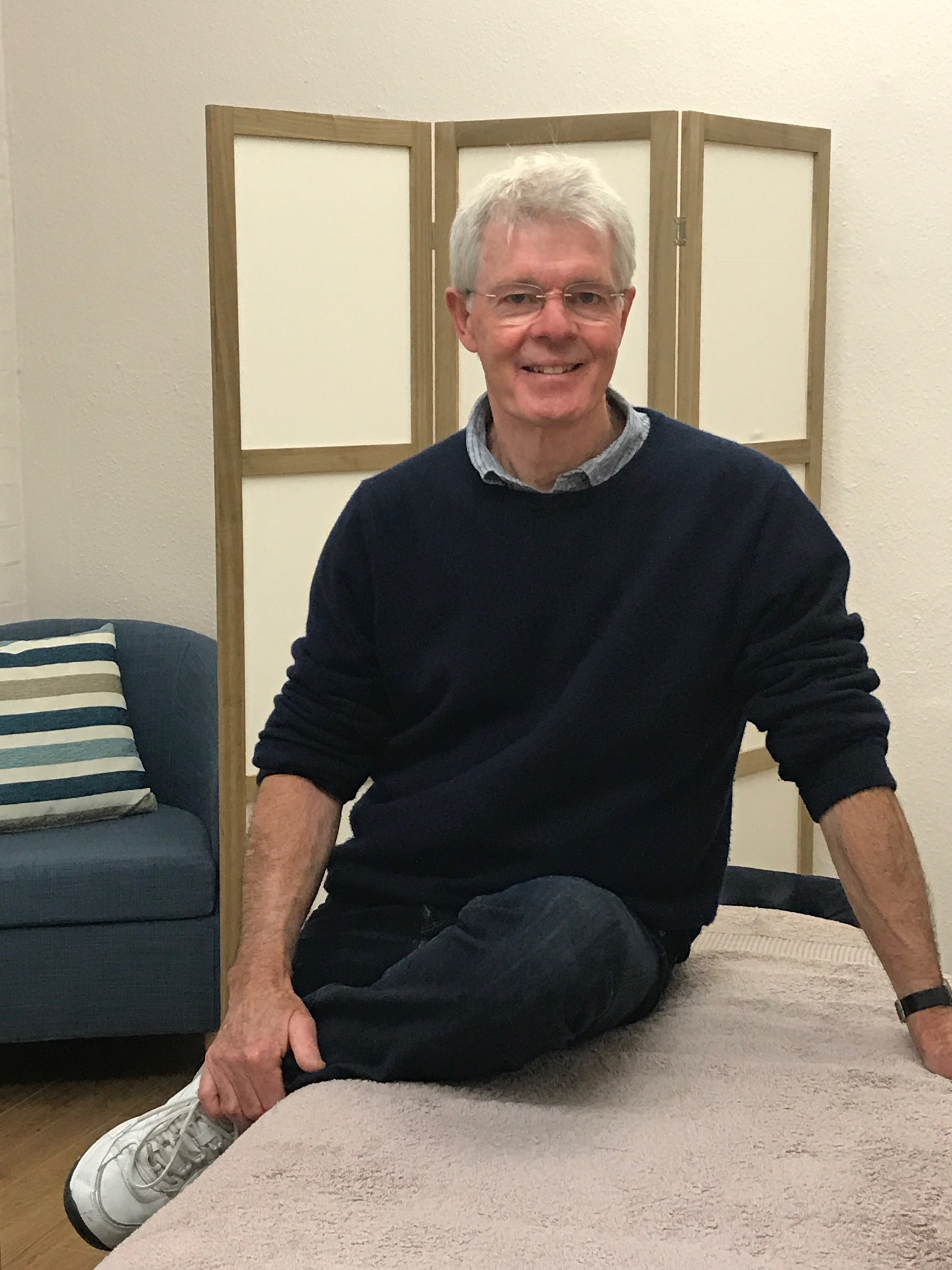 Will Wheen is a practitioner in Structural Massage at The Open Door clinic.