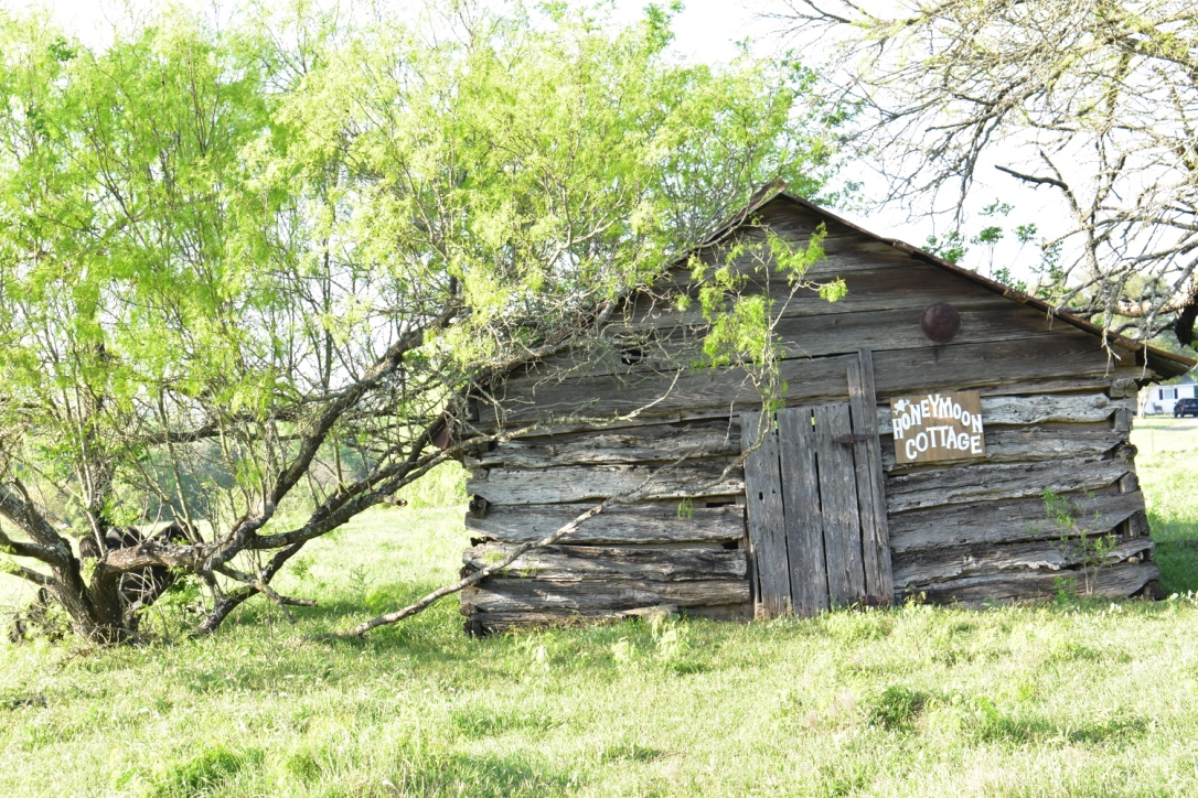 """The """"Honeymoon Cottage"""" - one of the Original Ranch Buildings."""