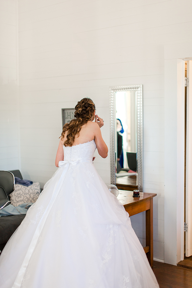 Bride's Room with an Abundance of Natural Light