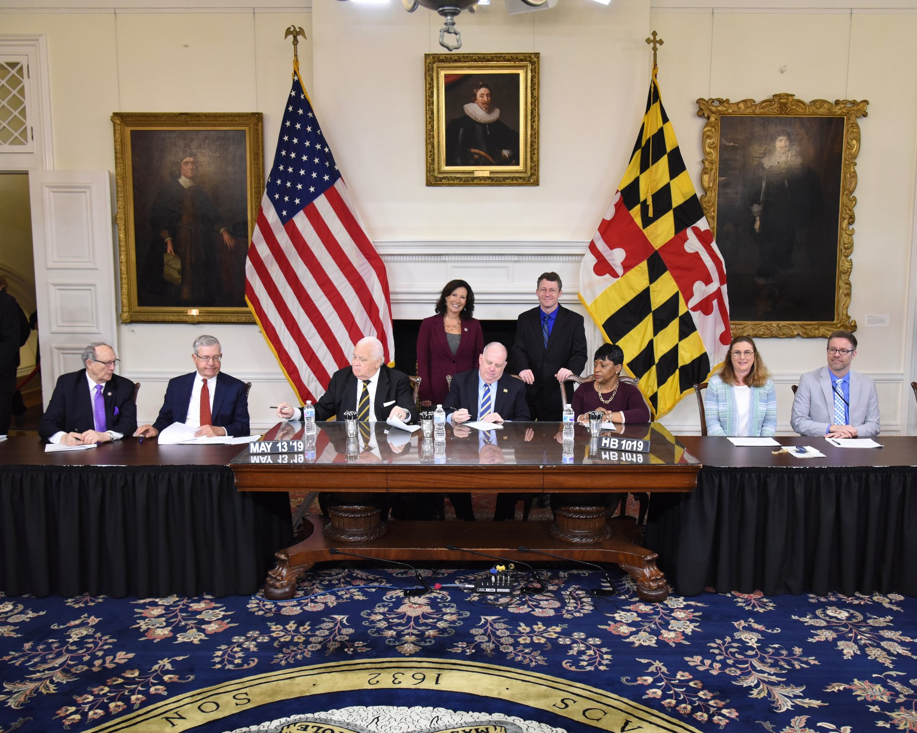 Bill Signings! - Governor Hogan signed HB611 ( to set timelines for Independent Educational Evaluations during the IEP process) and HB 1019 (to require a pause for appropriate piloting and standard-setting for new high stakes graduation exams before they can be used for graduation decisions) into law!