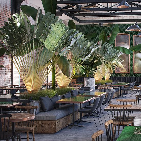 Peruvian restaurant/bar/lounge