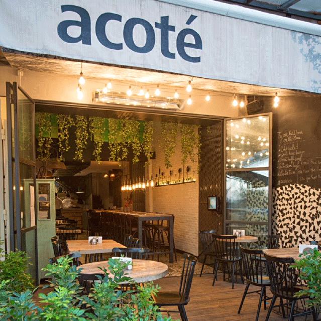 A Cote' Restaurant - Mar Mikhael, Beirut, Lebanon - 2014