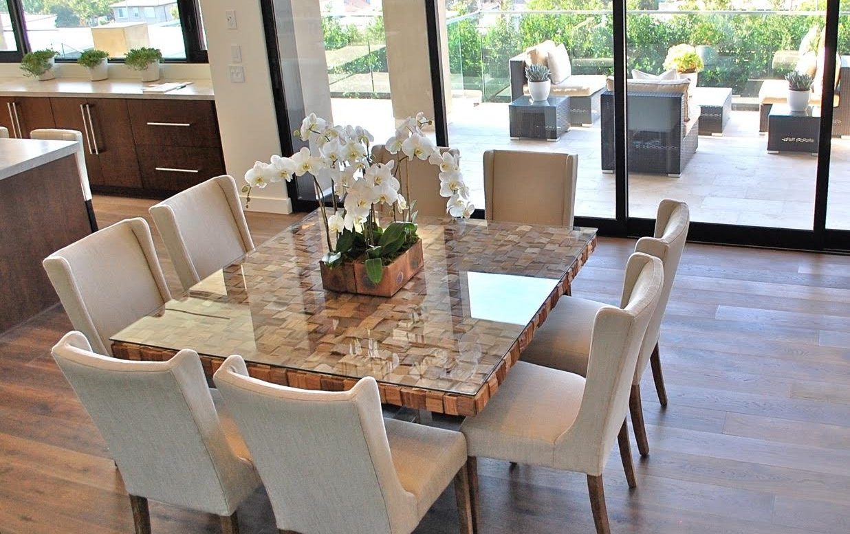 dining room marble table