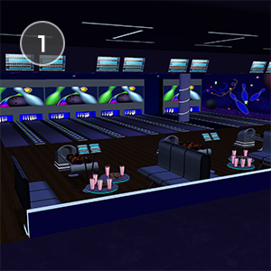BOWLING HANGOUT - It's time to get out and have some fun at the bowling alley! Hang out with your friends and bowl a perfect game, have fun at the arcade, and more!ce moves are electric and so is the atmosphere!Created by SexyErin