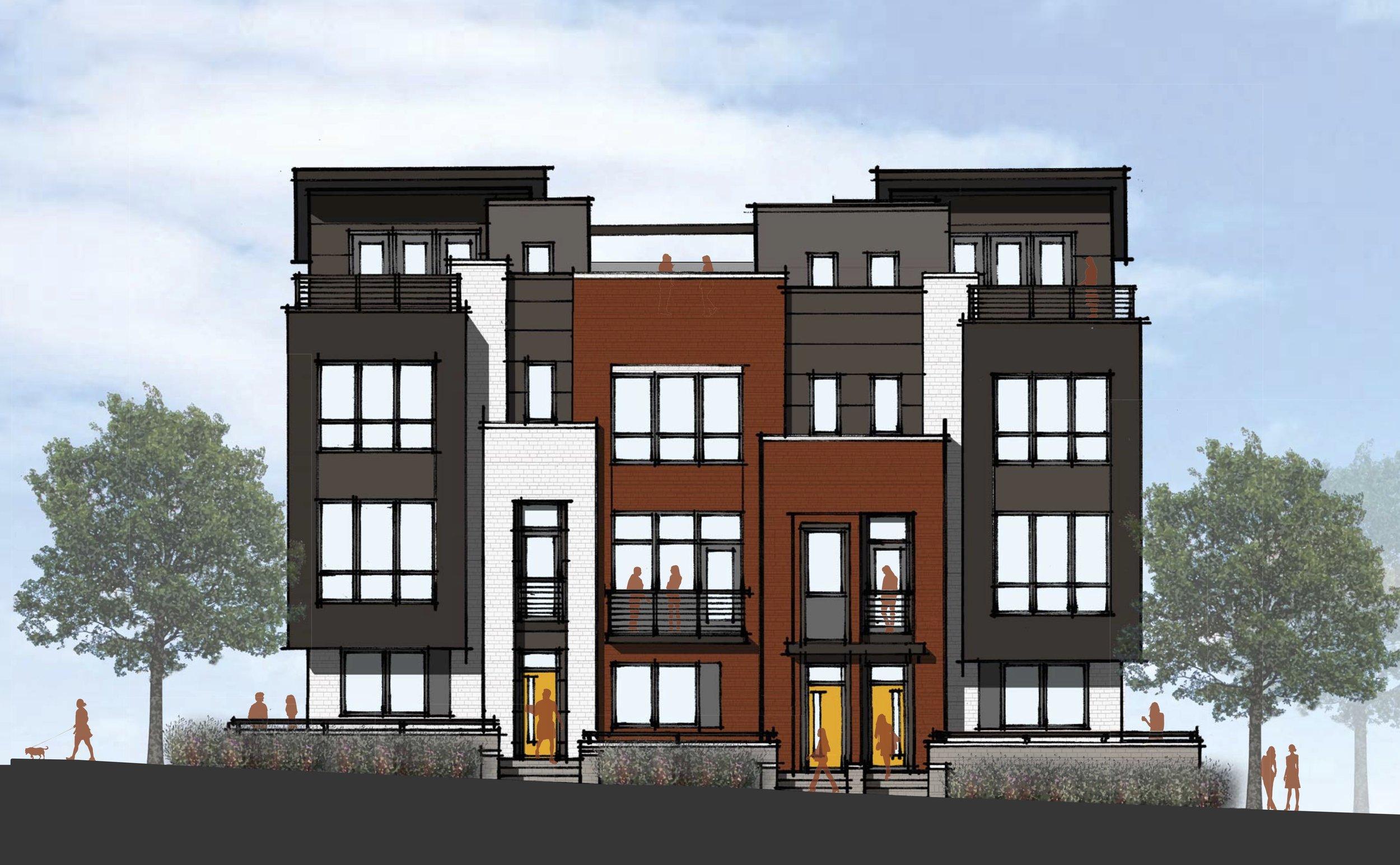 craft-townhomes-charlotte-fmk-architects