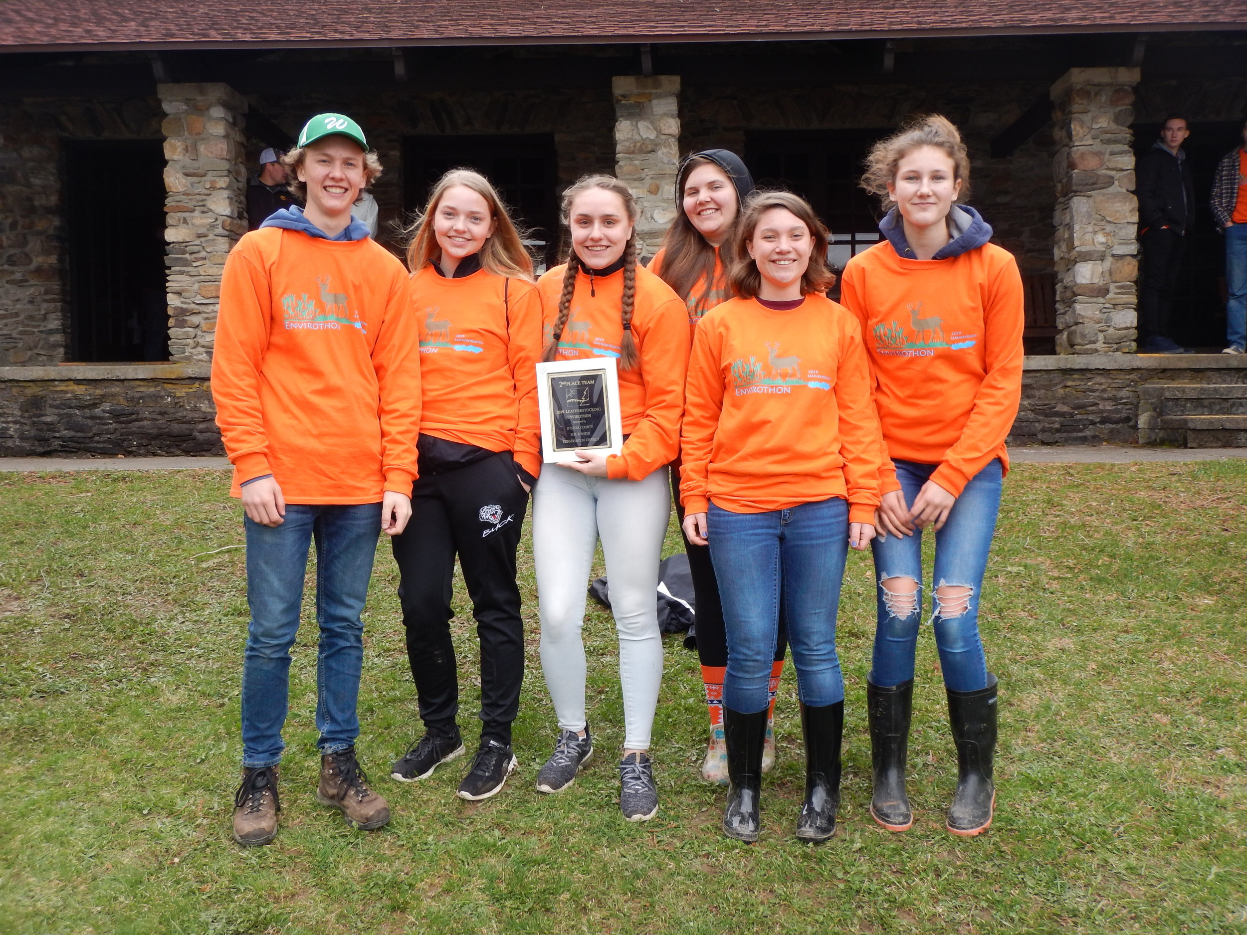 """ Worcester - Team A "" - 2019 Leatherstocking Envirothon 2nd Place Team"