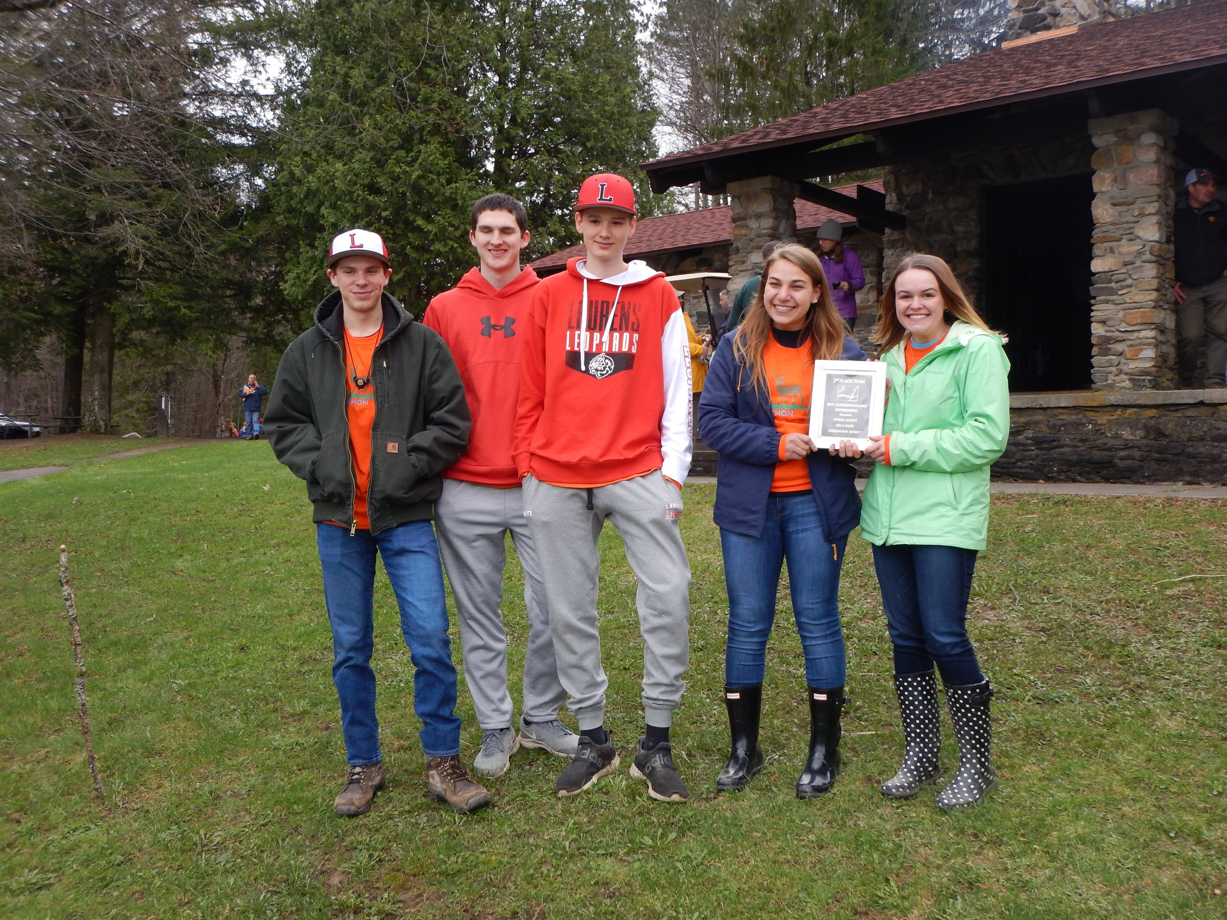 """ Laurens - Team A "" - 2019 Leatherstocking Envirothon 3rd Place Team"