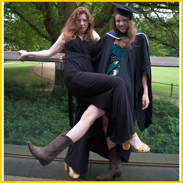 So university's over... now what?  Want to know what we're doing now unis finished? Plans for the blog?There's a new blog post up on @idyllicchaos 💙💛 Photo from Rachaels graduation :) #blog #lifestyle #Photography #modelling #graduation #university #uni #blogger #female #girls #photo #forhire #writer #photographer