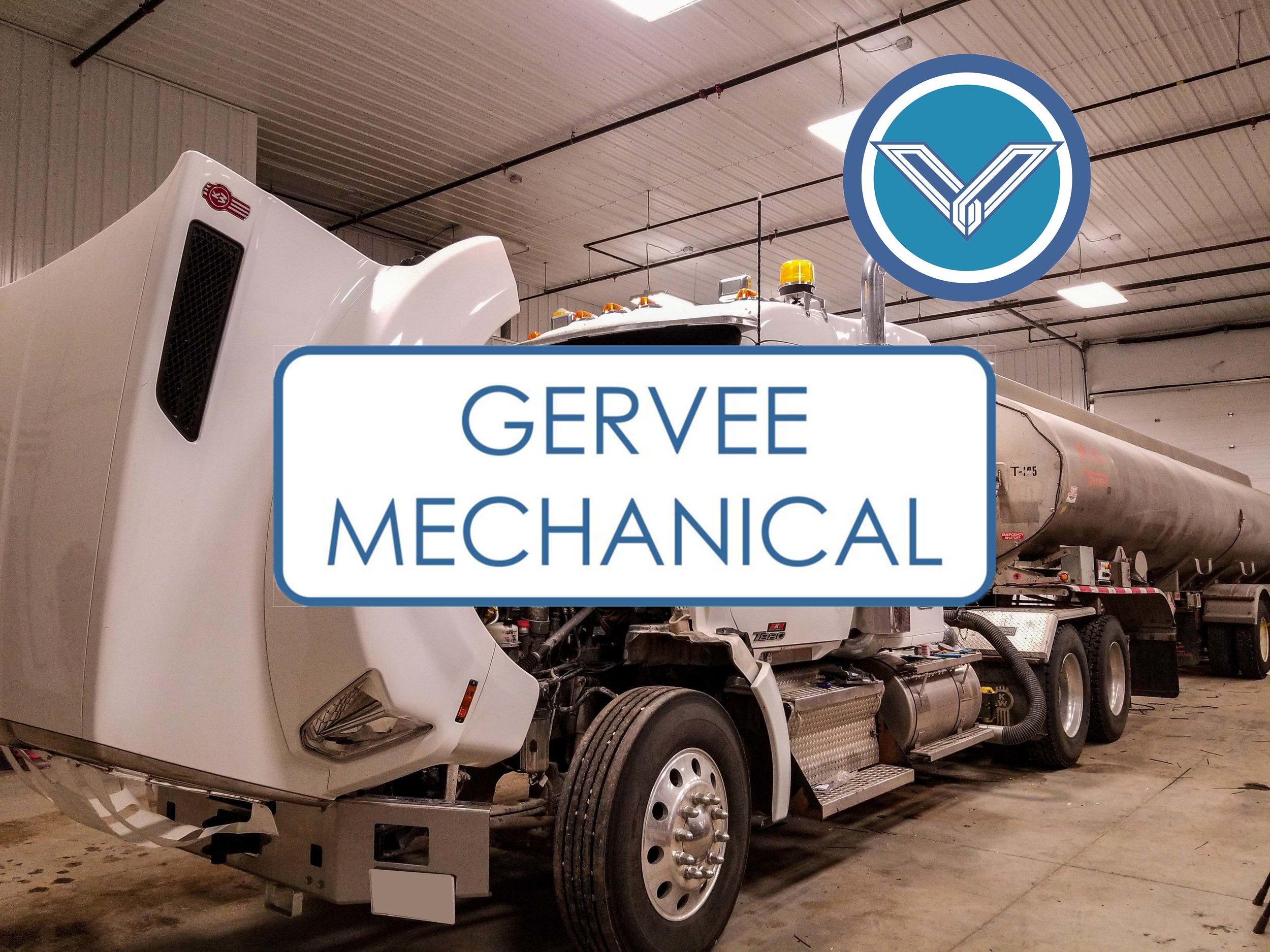 GERVEE is now offering truck and trailer repair.