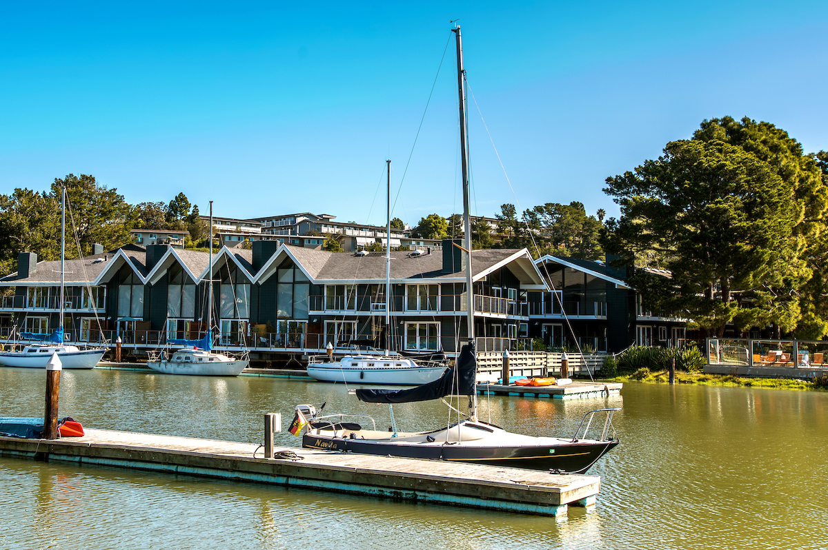 The Cove at Tiburon private marina with 50 boat slips