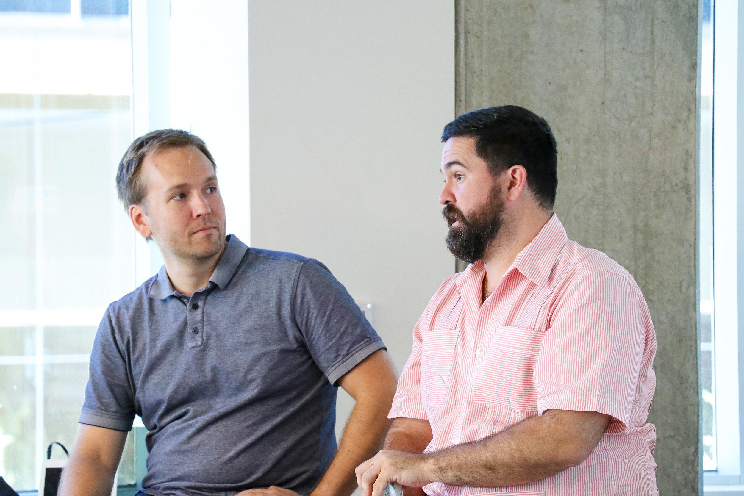 Notley Cofounder Dan Graham and Google's Gerardo Interiano