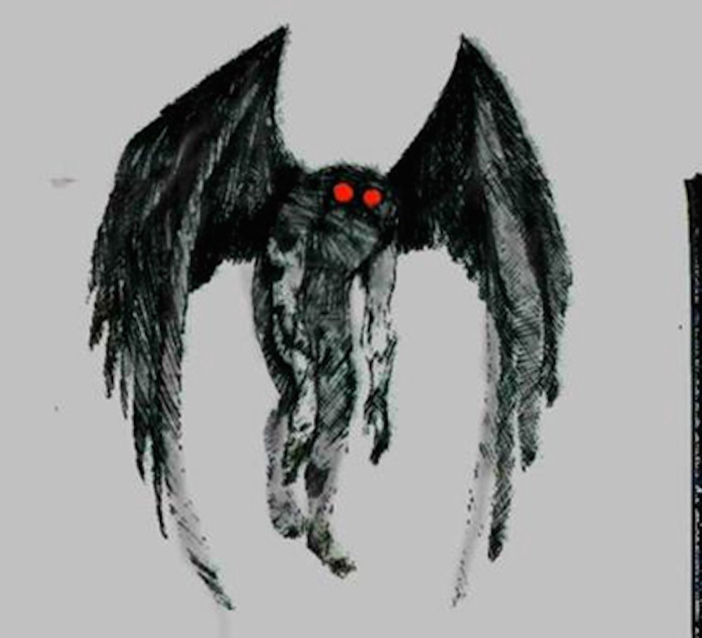 Mothman, the objectively best cryptid.