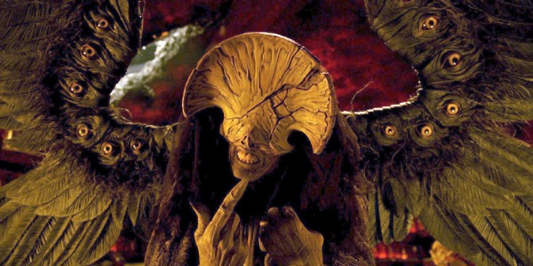 The Angel of Death from Hellboy II: The Golden Army (2008), directed by Guillermo del Toro, portrayed by Doug Jones.