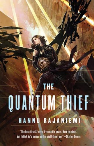 The cover of Hannu Rajaniemi's  Quantum Thief  (2010)