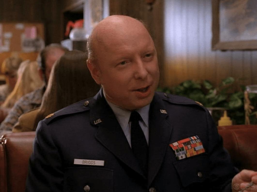 Garland Briggs, played by Don S. Davis