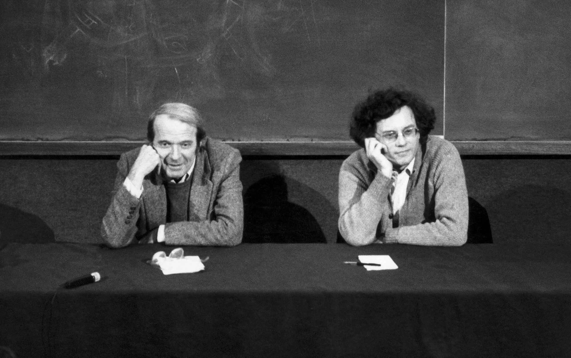 "The philosopher Gilles Deleuze and the psychotherapist Félix Guattari. They ""explained"" Schizoalanaysis in the  Capitalism and Schizophrenia Books : Volume 1,  Anti-Oedipus , Volume 2,  A Thousand Plateaus , and the arguable third volume,  Nomadology: the War-Machine ."