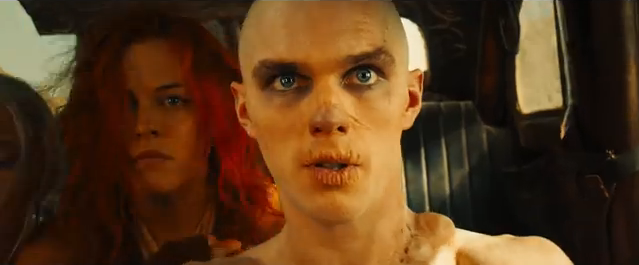 Consider, again, Nicholas Hoult's Nux, from  Mad Max: Fury Road  (2015) — his goal when introduced is to sacrifice himself for his own glory; at the end of the film, he sacrifices himself for others' safety. When you remove yourself from the center of the equation, interconnection becomes possible.