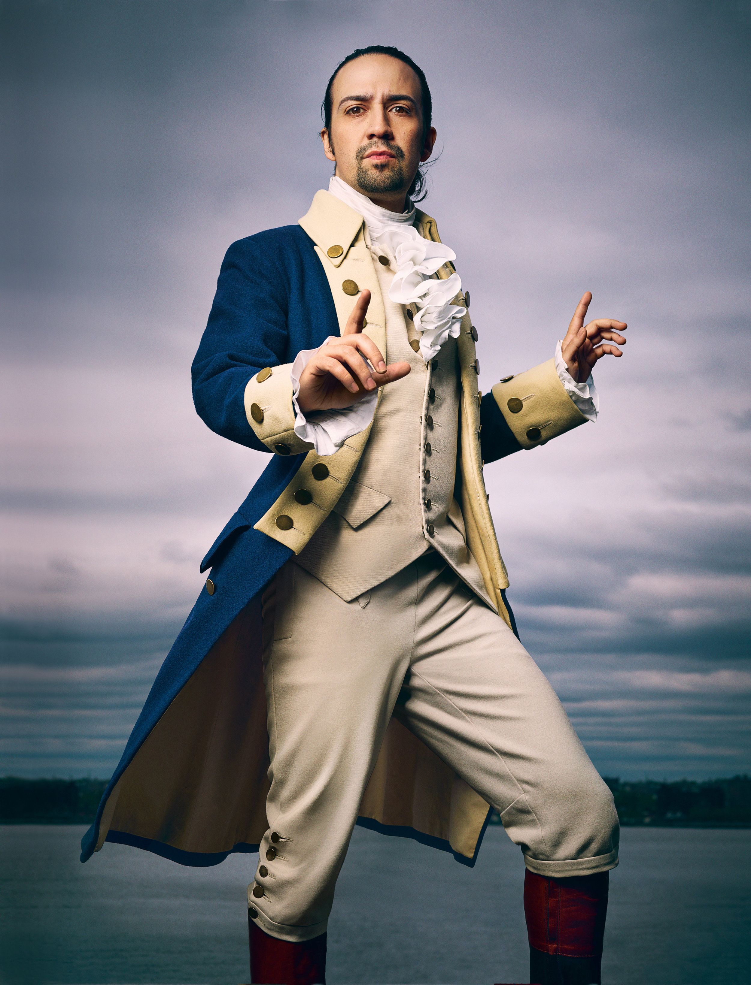 Hamilton , the musical, slaps.  Hamilton, the man, was a monster that did everything he could to  cement income inequality in early America.   (Photograph taken by Mark Seliger for   Rolling Stone   . )