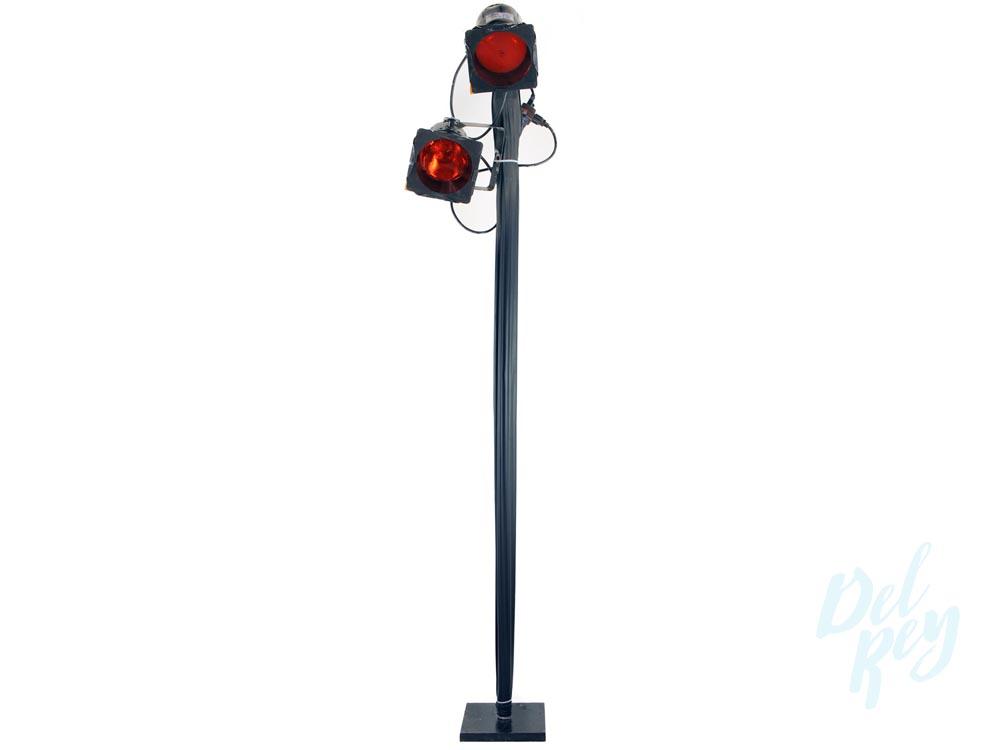 Double Light Pole
