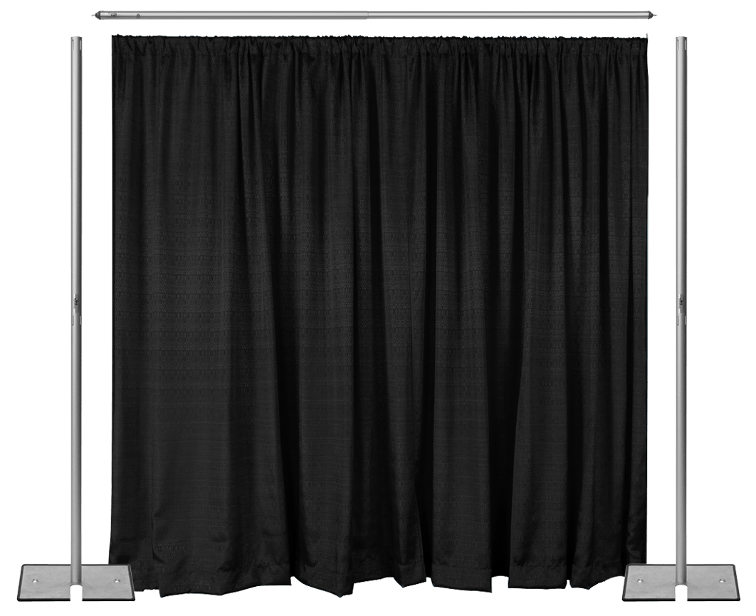 Velvet Blackout Draping