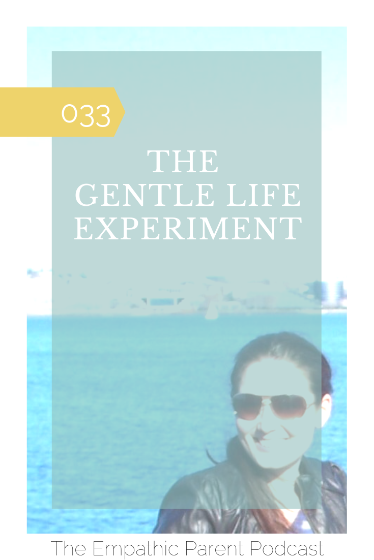 colleen sims gentle life experiment