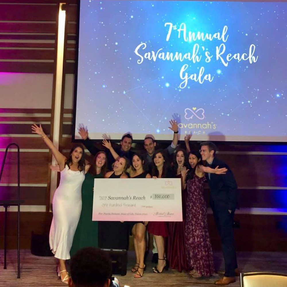 2019 - The 7th Annual Savannah's Reach Gala exceeded all our expectations! Together over 200 of us gathered and raised $100,000 that will go entirely to our three initiatives. We are thrilled to share the 2019 giving spread for our three key initiatives: Puerto Hermosa - $50,000 These funds will contribute to a wide range of medical expenses to care for the children living at Puerta Hermosa Orphanage in Baja California.Hope of Life - $30,000 This amount will fund 25 baby rescues who are suffering from malnutrition in Guatemala. In addition, Hope of Life equips these babies' families with prevention resources.Zero by 2020 - $20,000 These funds will be used to support local families who foster or who have adopted. These families are committed to finding a home for every child in Orange County!We want to thank our three Title Sponsors, Joseph Martelli Real Estate Investments , RD Olsen Development, and Brand Enhance Parking & Hospitality. Thank you to this year's Child Rescue Sponsors Banc of California and Epiphany.