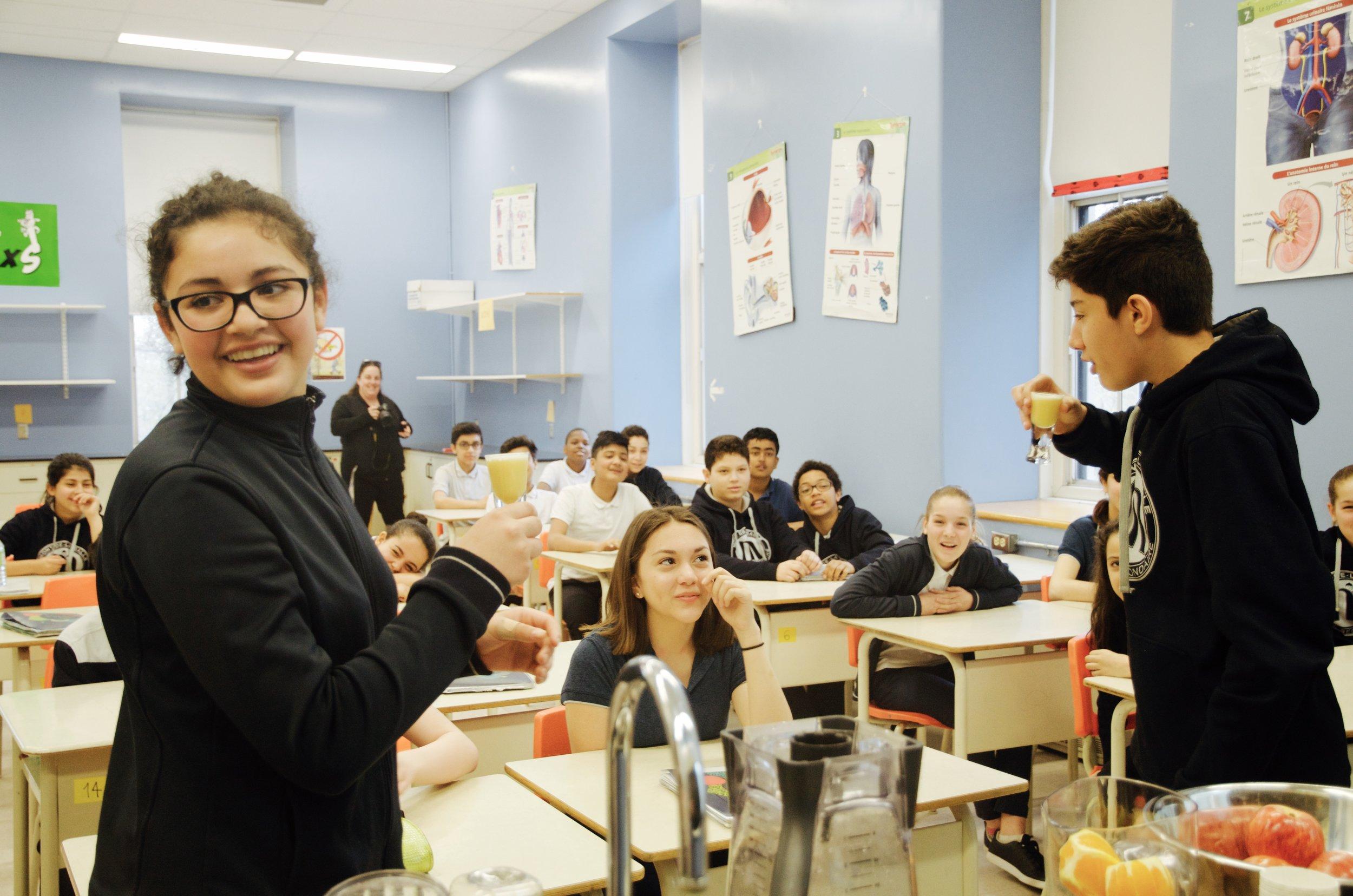 Conférence sur l'alimentation en milieu scolaire