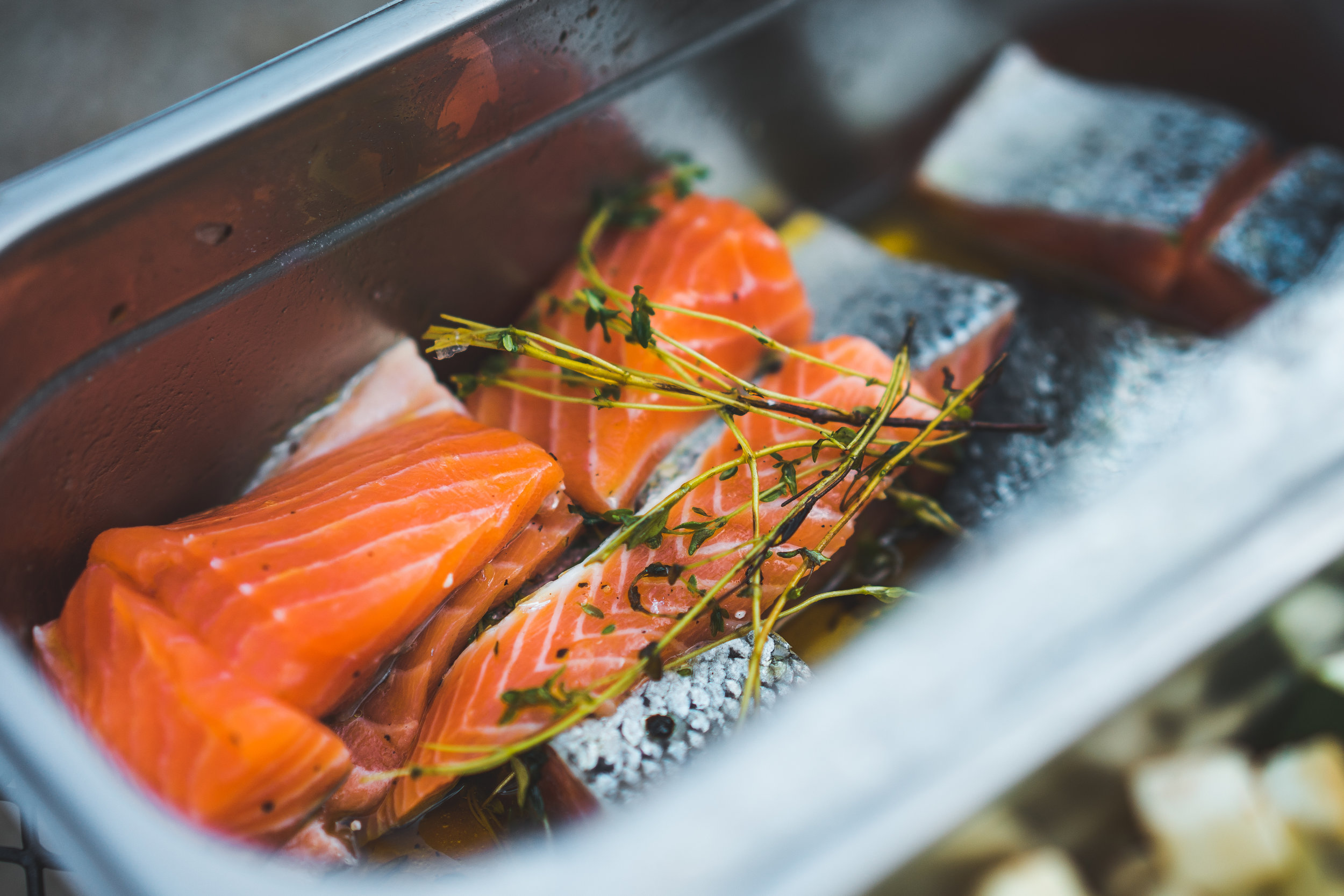 saumon BBQ