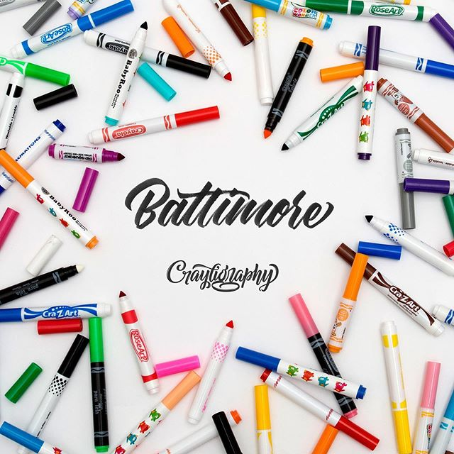 🎟🖍Want a chance to score a free spot in our Baltimore Crayshop in 2 weeks? Simply repost this image and tag @tierneystudio @baltimoremuseumofindustry and @crayligraphy and hashtag #Crayligraphy_Workshop_Baltimore  Within your caption, tell us why you are interested in going and what you hope to get out of the workshop. But more importantly, your favorite pizza! 🍕Bonus points if you add this to your Stories!  We will be choosing one spot to fill the workshop next week. The #Crayligraphy Workshop is Saturday, July 27th at @baltimoremuseumofindustry from 10:30 AM to 2:30 PM. All materials and supplies will be provided along with a brand new 'Make Your Mark'er pouch that each attendee will get to go home with. There will also be some light refreshments.  If you've already signed up, no worries! If you follow the rules above and happen to be chosen, we'll reimburse you.  Do you know someone in the Baltimore/DC area who might be interested in going? Tag them and let them know!  Stay Cray✌️😎