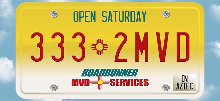 Our Mission - Roadrunner MVD Services was established in 2010, to bring relief to the congested and overwhelmed MVD offices operated by local municipalities and State of NM. Roadrunner provides title and registration services for private passenger auto, off road vehicle, motorcycle, recreational vehicles, boats, and trailers.
