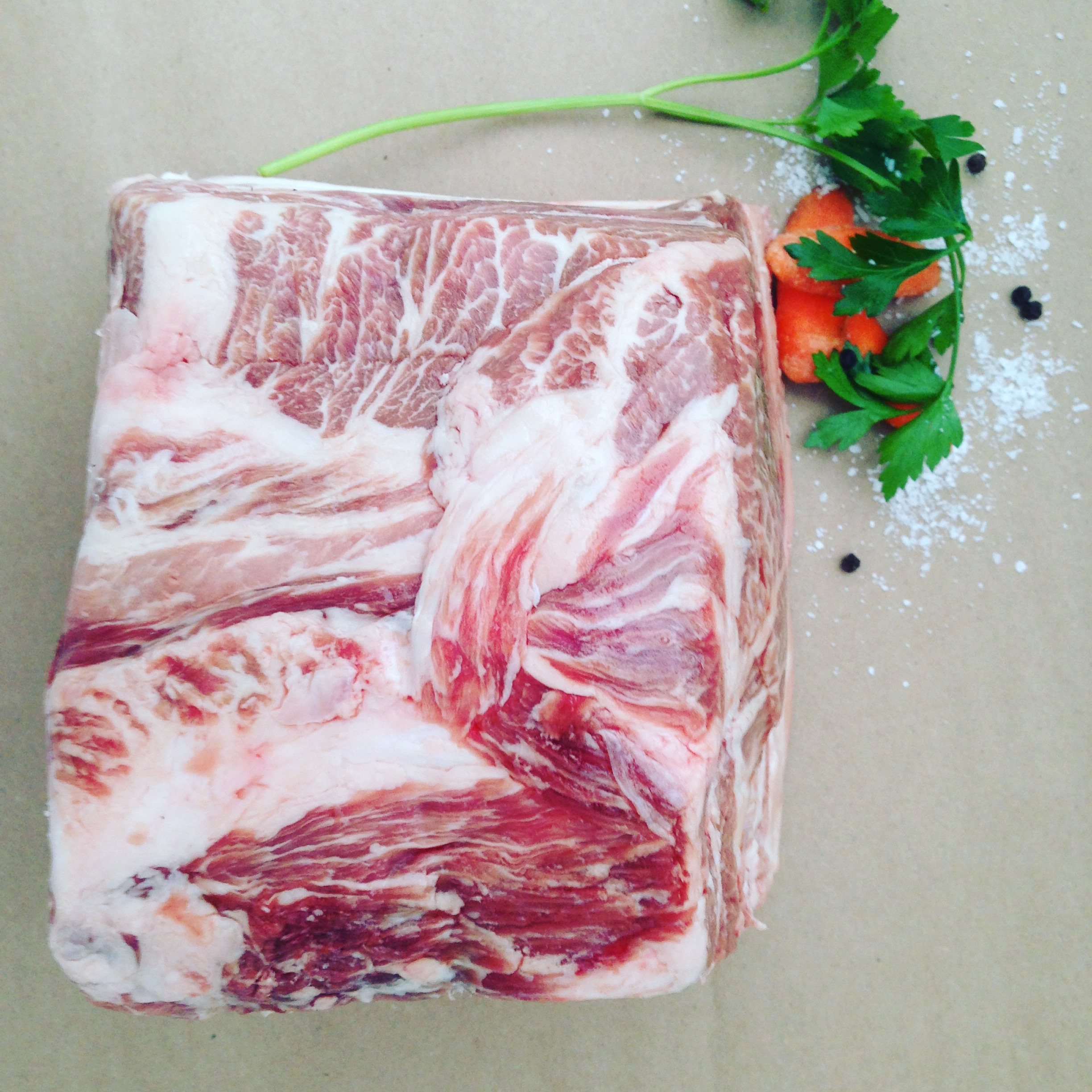 Vintage Tennessee Duroc - The highest standard of quality, for both it's red coloring and degree of marbling.