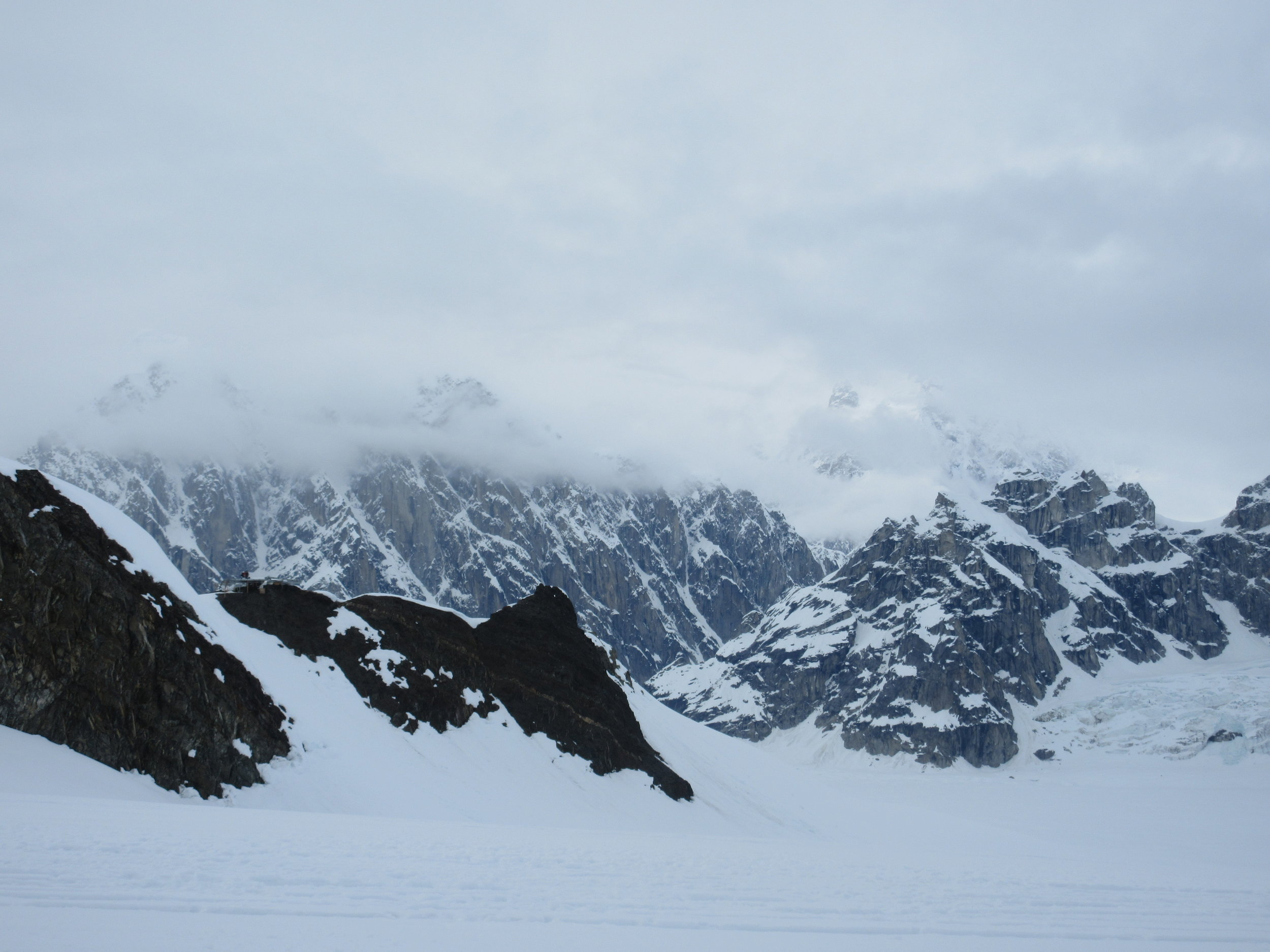 Ruth Glacier, Denali National Park. This pristine wilderness is only accessible by bush plane.