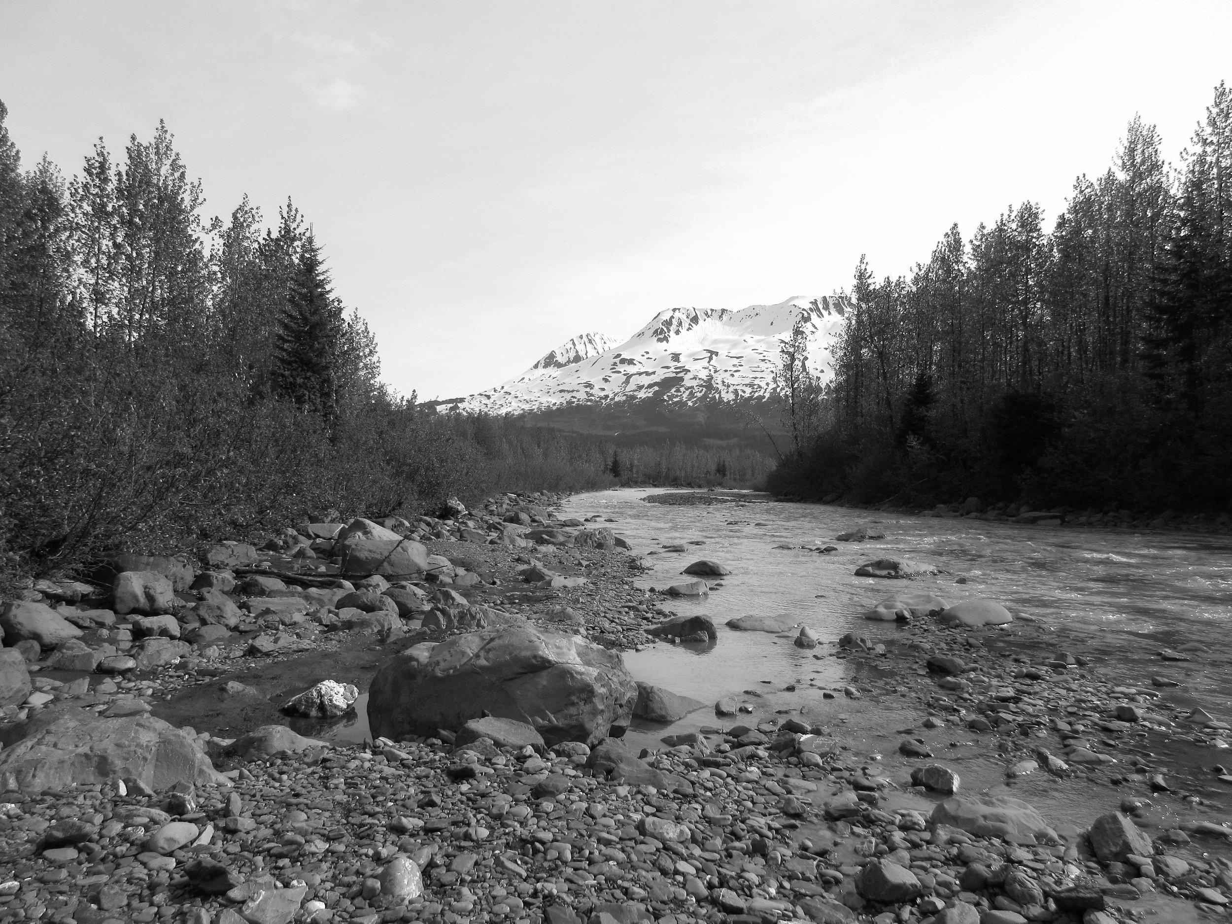 Glacial Outwash Plain, Alaska