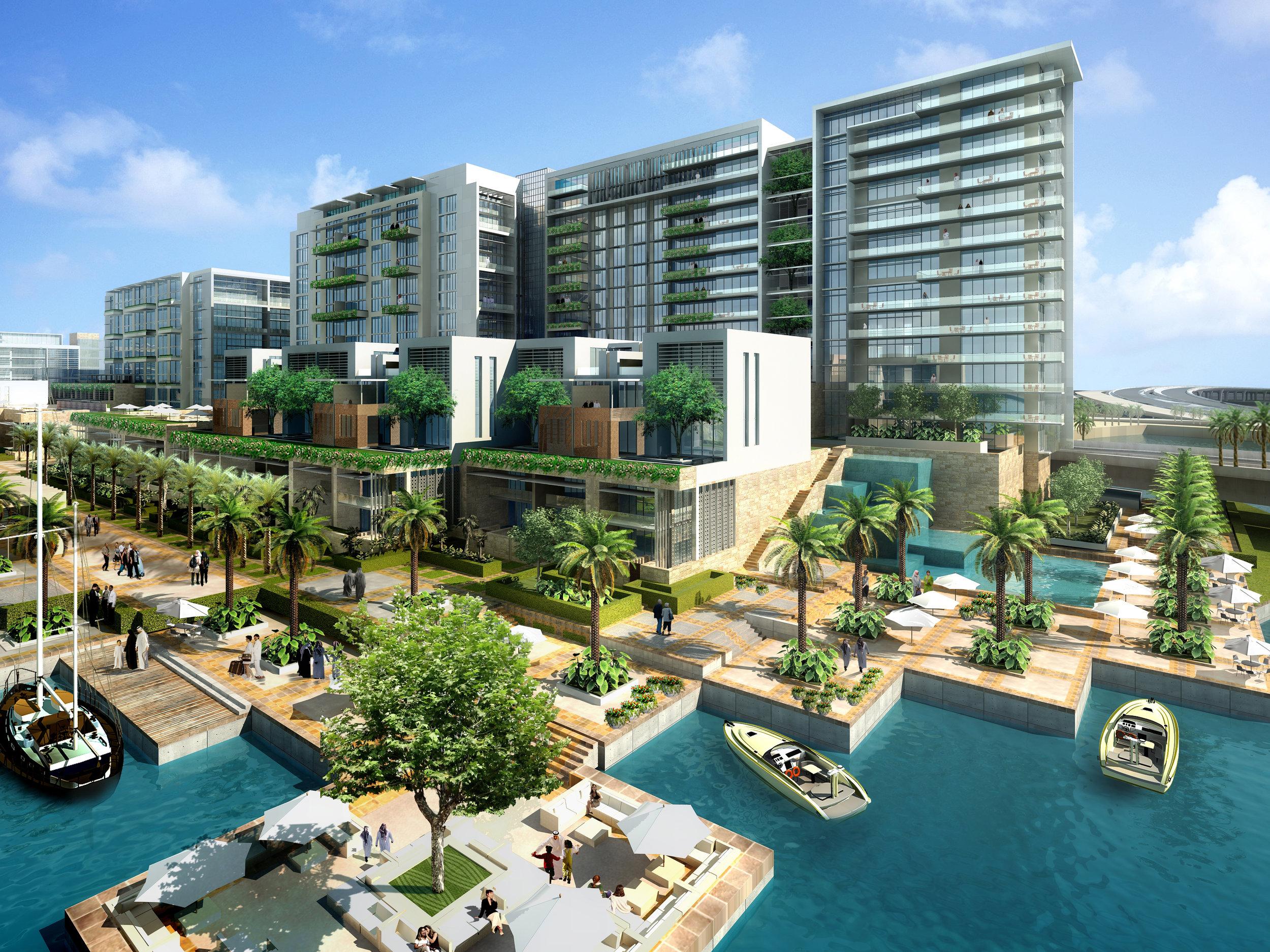 Al Zeina Precinct - Al Raha Waterftront Abu Dhabi 2.jpg