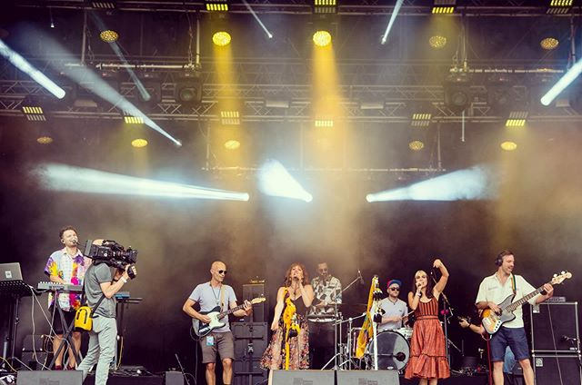 Day 136 🚎 We are back on the road for our final stretch of tour 🚏Starting TONIGHT at Kino Ebensee 9pm 🎑 Let us cool you off with some fresh tunes on this hot summer day 🐳 . . . #musicfestivals #austrian #germany🇩🇪 #austria🇦🇹 #vienna_city #donauinselfest #vivaconagua #klagenfurt #villach #salzburgaustria #futureisfemale #spreadthelove #healers  #musicmakers #summermusic #onestowatch #fm4 #spotify #applemusic #kroq #localsonly #savetheearth #losangelesmusic #happypride