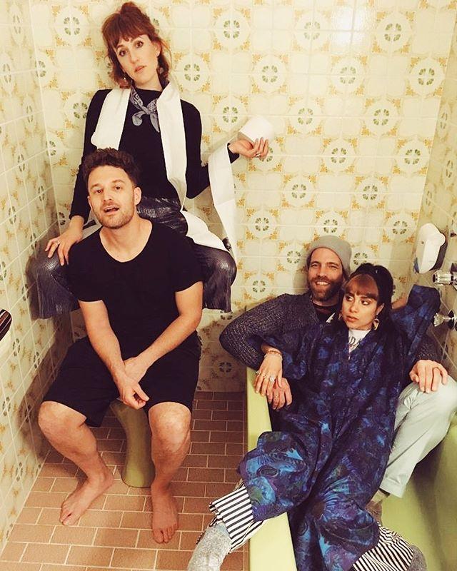 🛀🏽 bathroom shenanigans 🛀🏽 already missing moments like these #tbt . . . #musicfestivals #bathroomgoals #photoshoot📷 #austria🇦🇹 #vienna_city #sweden🇸🇪 #denmark🇩🇰 #klagenfurt #karmictour2019 #indiepop #futureisfemale #spreadthelove #healers  #musicmakers #summermusic #onestowatch #fm4 #spotify #applemusic #kroq #localsonly #savetheearth #losangelesmusic #happypride