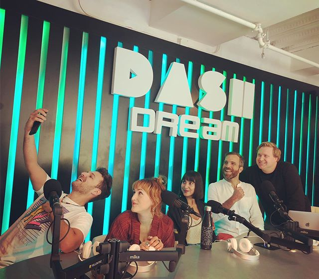 Thank you @grantowensmusic for having us on @dashradio 🌐 We had such a blast 💠 Excited to play our showcase for @wfnm on Sept 18th at 9:15 @thehihatla 💎 RSVP link in story . . .  #fridaythe13th #fridaysforfuture #losangeles_city #vintagestyles #moroccanlounge #austria🇦🇹 #lalive #musicmakers #indieband #germanytourism #losangelesmusic #spotifyplaylist #itunes #savetheearth #womeninmusic #lamusicscene #kimonostyle #spreadthelove #fm4 #kroq #localsonly #dashradio