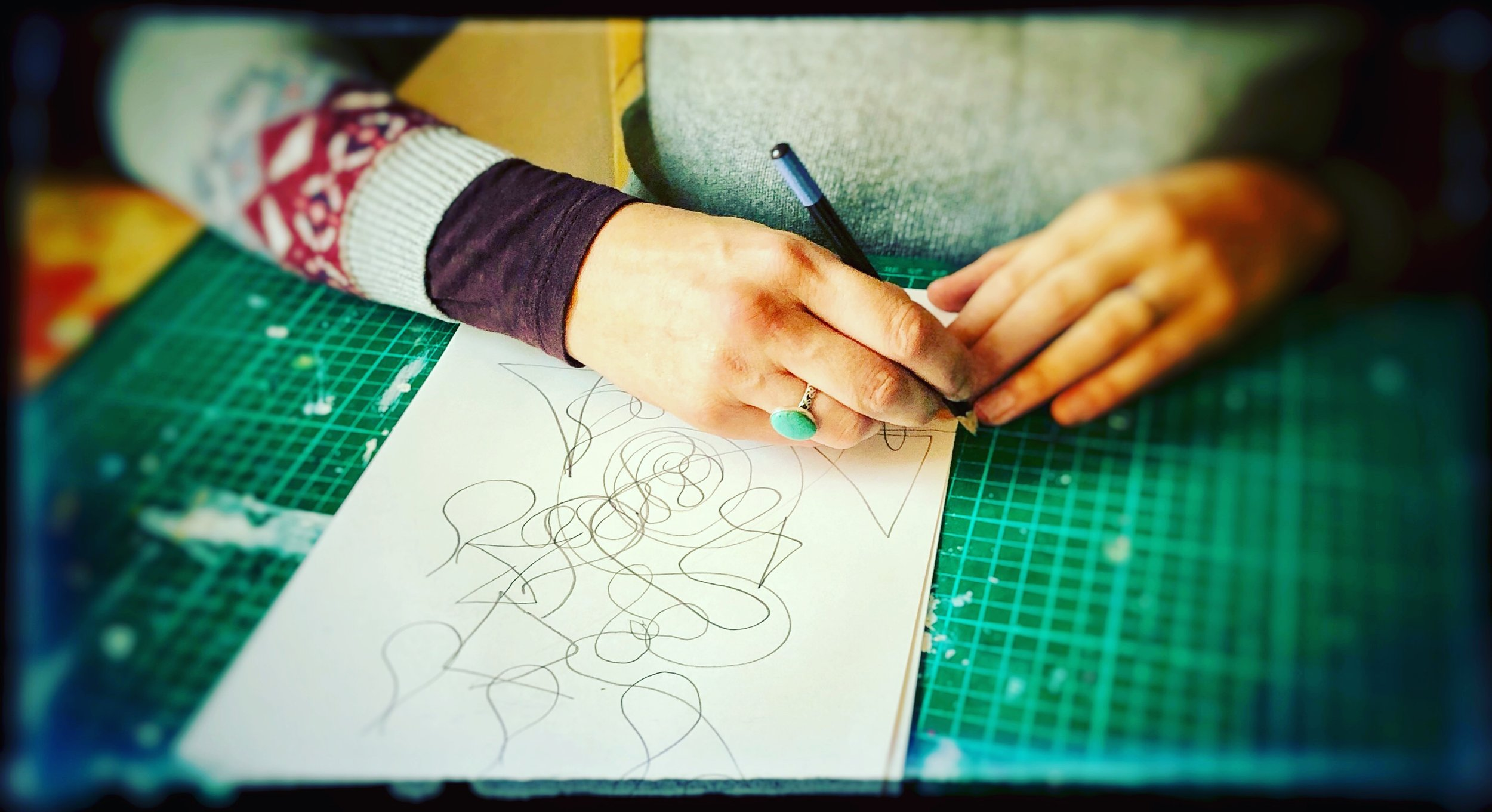 Art Journal process