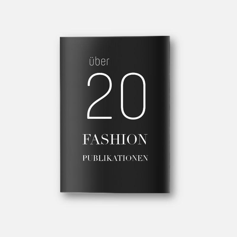 Über 20 Fashion Publikationen