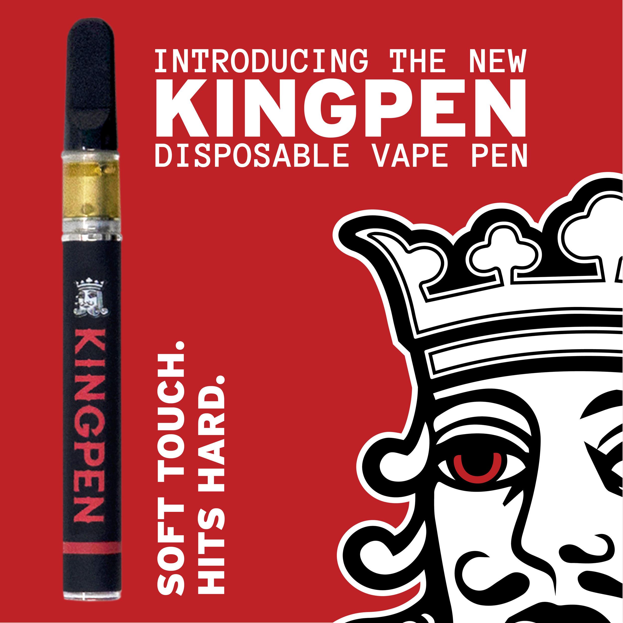 Disposable Vape Pen Announcement