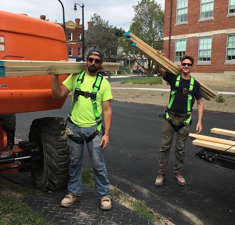 Mo & Ian... a couple of the Good Dudes.