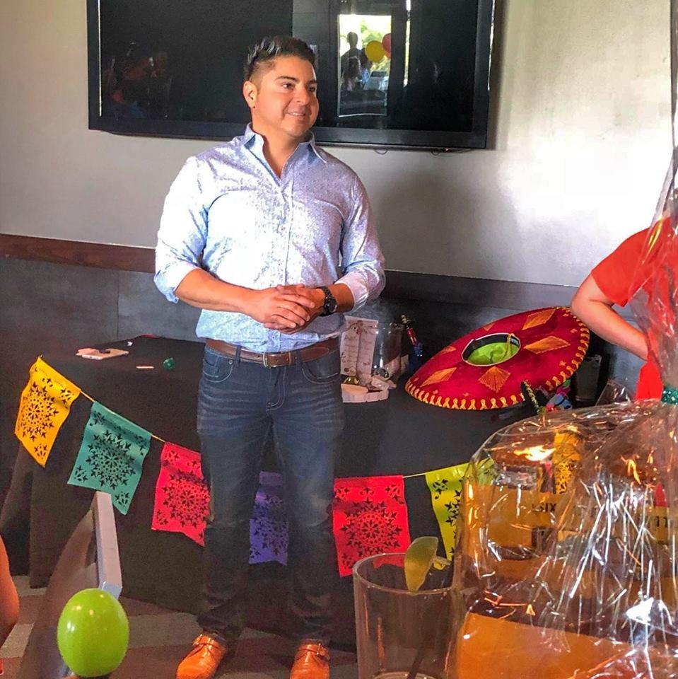 Roman at our TopGolf Cinco de Mayo Client Appreciation Event