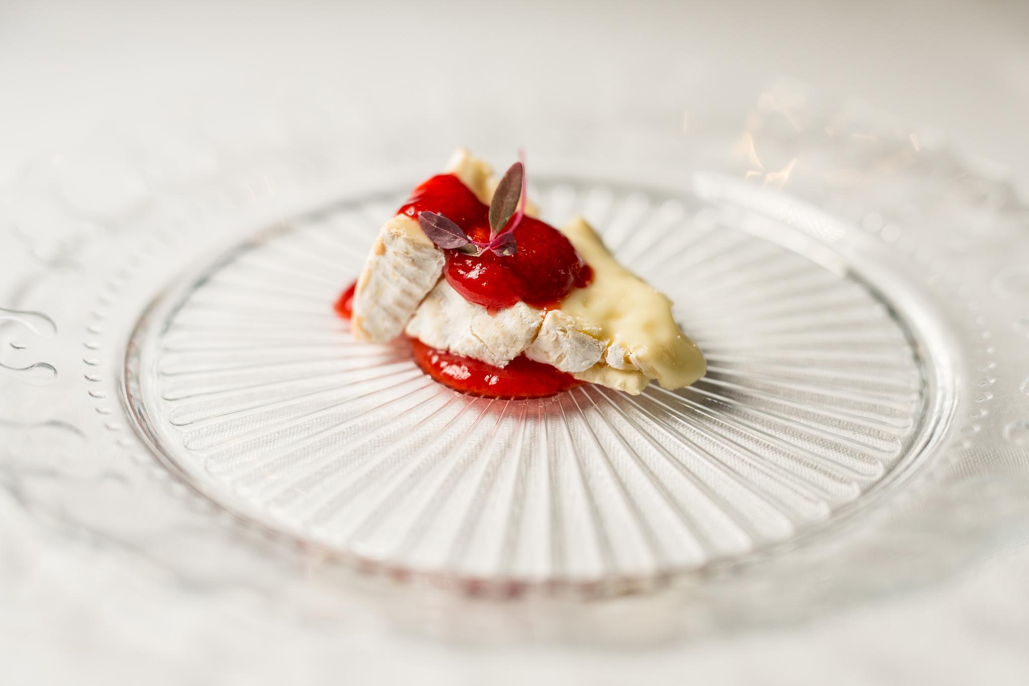 Camembert, Housemade Saltine, Chipotle Raspberry Jam