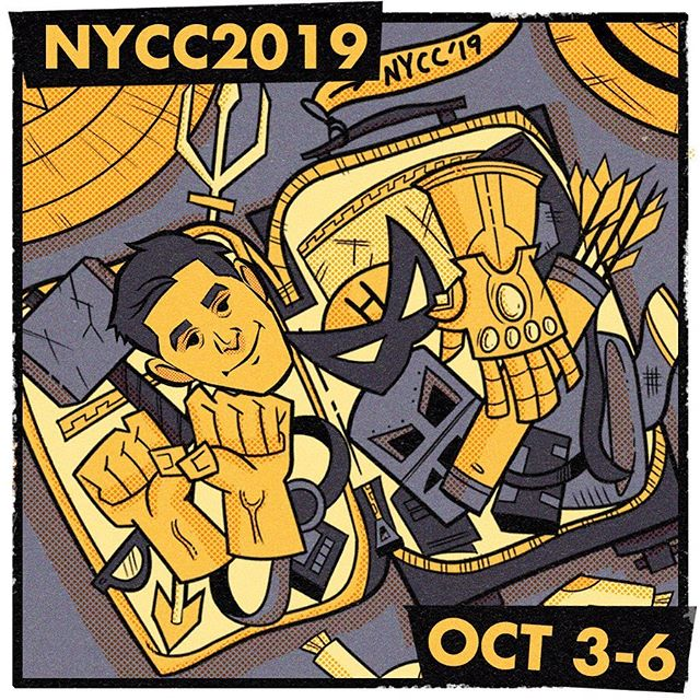 Attendees Assemble! We're headed to NYCC Comicon Oct.3-6! Our Creative Director, Mitch Cohen would love to grab a slice and meet up! ⠀ - ⠀ - ⠀ #YPM_Agency #NYCC2019 #creativityeveryday