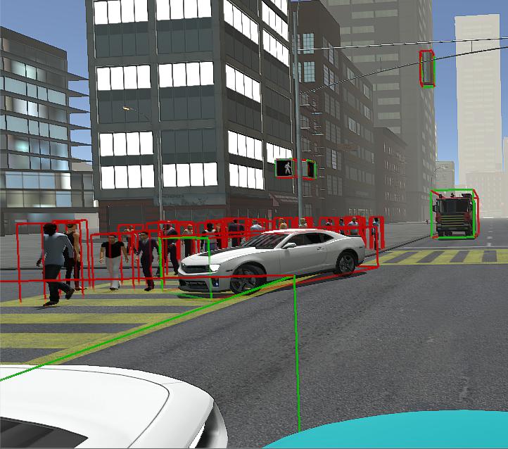 Simulator: 3D data visualization