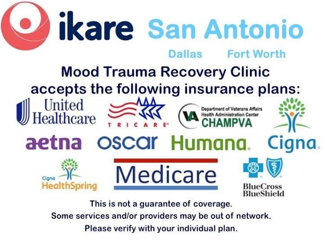 iKare is in network with many major insurance plans, something almost unheard of in mental health.  #ikaremtrc #sanantonio #dallas #fortworth #austin #insurance #getcovered