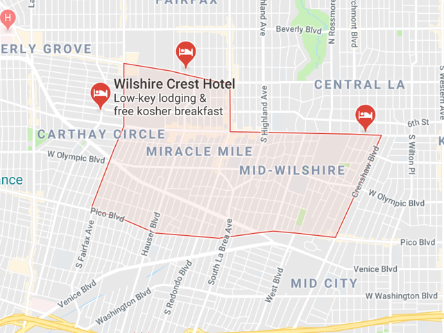 Mid Wilshire  Superficie: 7.20 km2 Démographie: +47,176 habitants Prix moyen par Sq.Ft (1m2 = 10.76 Sq.Ft): -Maison Single Family: Q1 2018: $515 (Q1 2017: $503)