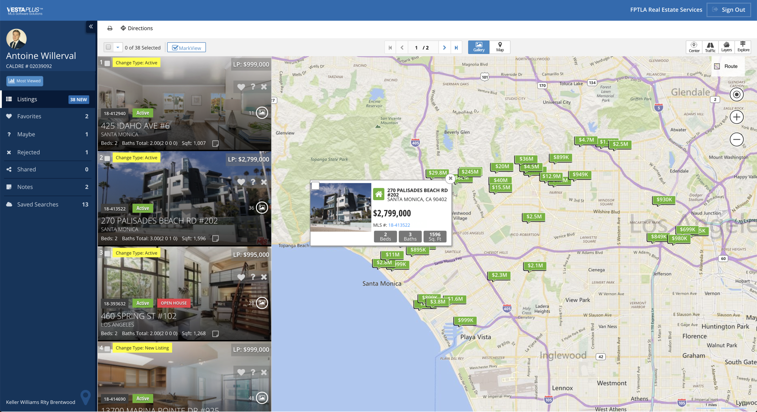 Home_Search_Dashboard_From_Paris_To_LA_Real_Estate_Services
